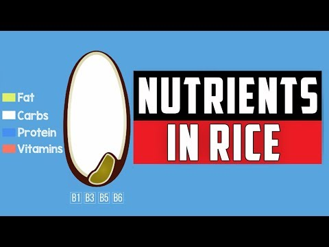 Nutrients in rice | Benefits of Rice types ( Brown Rice | Red Rice | White Rice | Parboiled Rice)