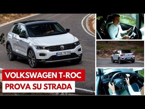 Volkswagen T-Roc | Test drive del nuovo SUV compatto Volkswagen