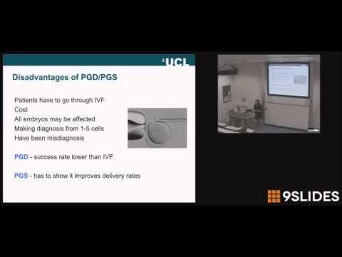 Reproductive Genetics: pre-pregnancy and preimplantation genetic testing