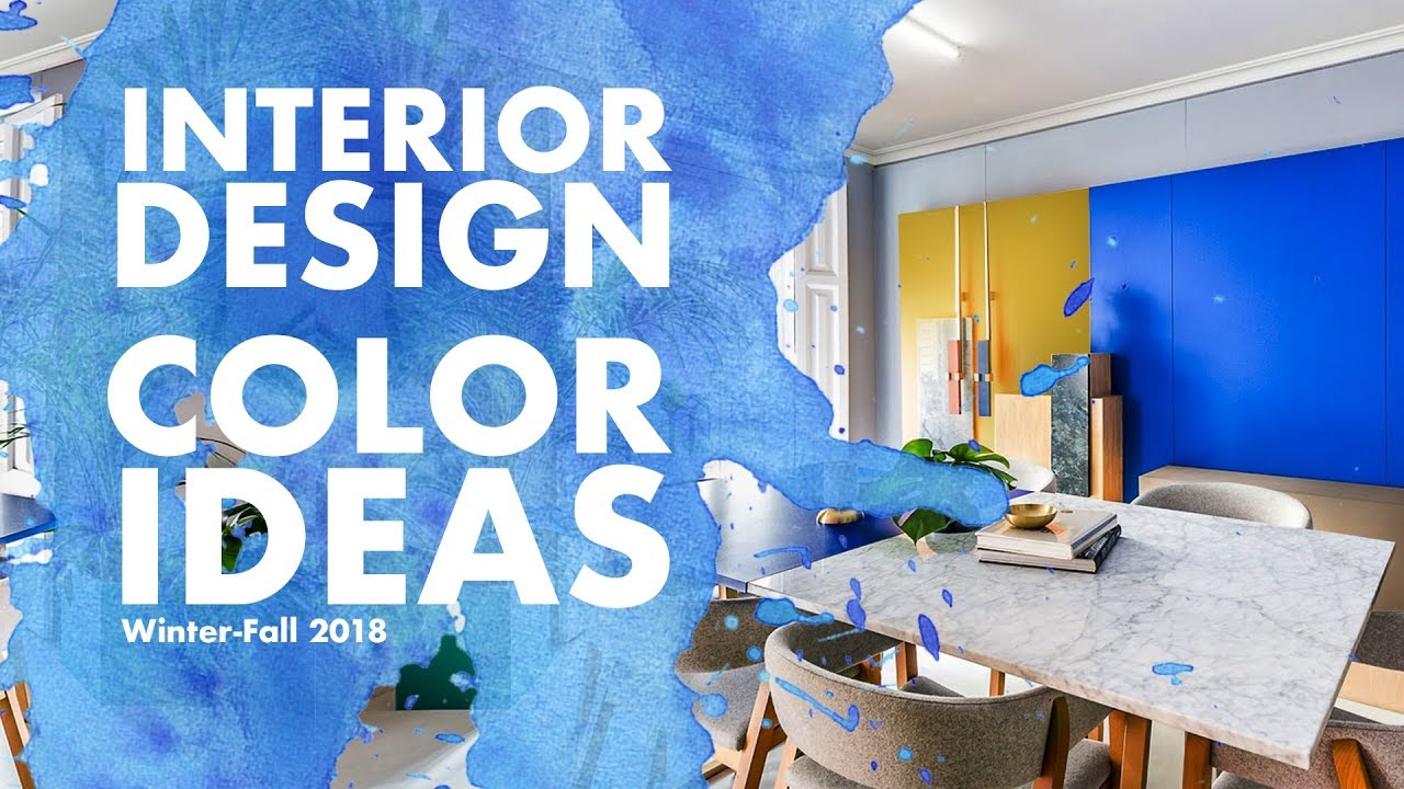 TOP 6 Color Trends 2018