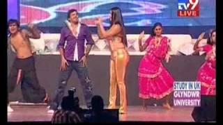 vuclip Gulte.com - Namitha Hot Performance At Santosham Awards