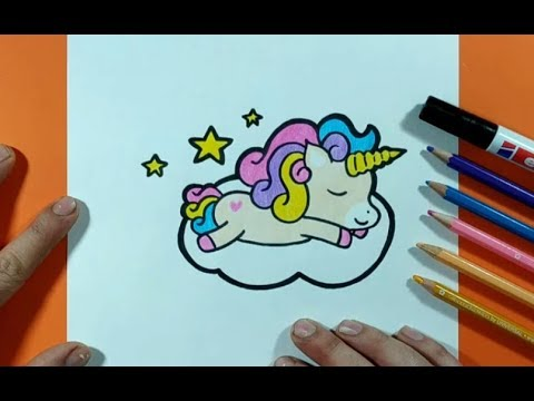 Como Dibujar Un Unicornio Paso A Paso 10 How To Draw A Unicorn 10 Youtube