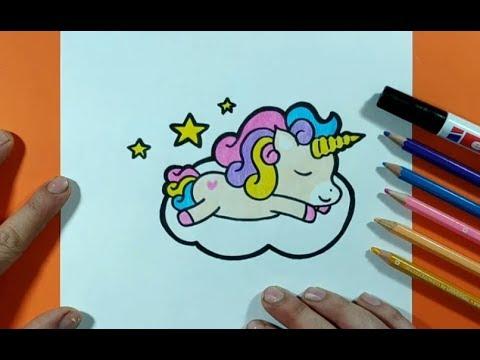 Como Dibujar Un Unicornio Paso A Paso 10 How To Draw A Unicorn 10 Youtube