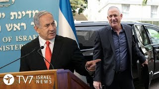 Israel forms unity government; Allegedly strikes Iranian-proxies in Syria - TV7 Israel News 21.04.20