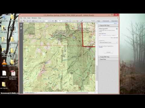 Print USGS 7.5 minute Quads for Free!