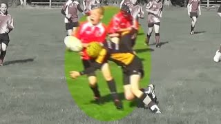 Awesome Rugby Tackles  -  Amazing Hard Tackles U13