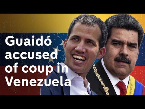 Venezuela's Guaidó calls for uprising against Maduro
