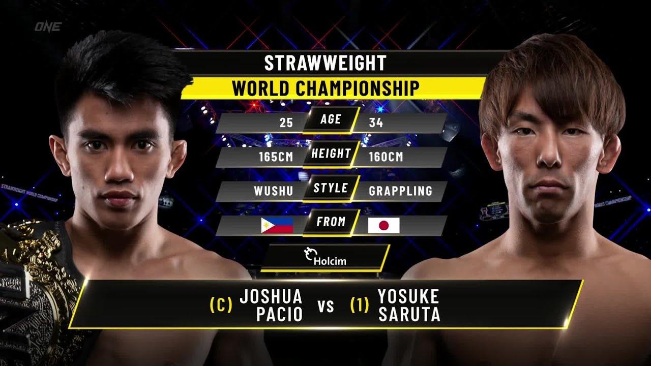 Joshua Pacio vs. Yosuke Saruta III | ONE Championship Full FIght