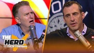 Eli Manning belongs in Hall of Fame, Mahomes is the face of NFL, talks Knicks — Rapaport   THE HERD