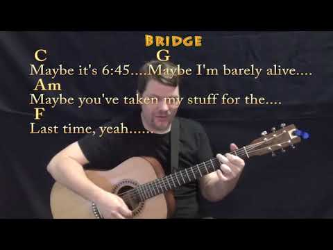Girls Like You (Maroon 5) Strum Guitar Cover Lesson in C with Chords/Lyrics