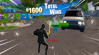 My 1600th Fortnite Mobile WIN (23 Kill Solo Squad)