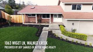 1063 Wiget Lane, Walnut Creek | 3 BD | 2.5 BA | 1,790 SQ FT | 0.32 ACRES