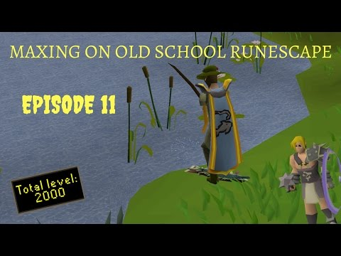 Maxing on OSRS - progress video #11