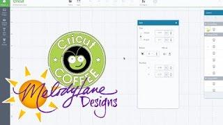 Cricut Coffee Logo in Design Space