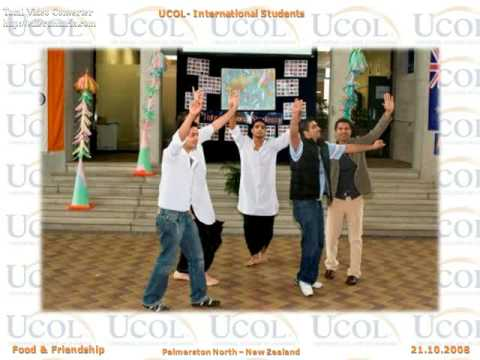 UCOL- International Students- Food and Friendship