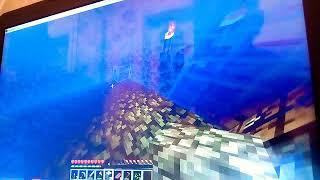 Я хотел копать шахту но нашол сундук в закрытом доме на 5 тысяч. Леттт
