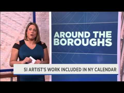 NY1 - Centers Health Care Resident Art Exhibit in Staten Island