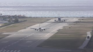 Amazing Short Take off KLM A330 at Sint Maarten Airport SXM with ATC