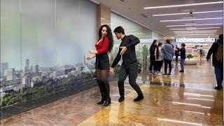 Девушка Танцует Любовно В Москве С Парнем Dance 2019 Лезгинка С Красавицей Из Ташкента ALISHKA