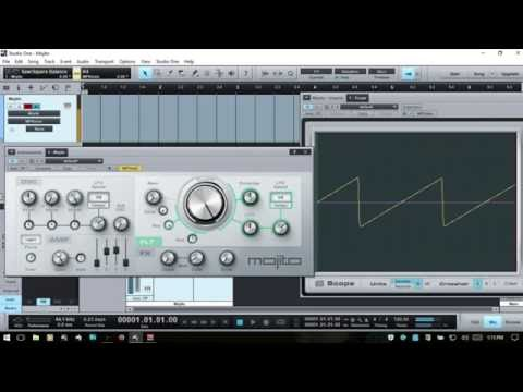 Learn Studio One | Using Mojito & Basic Synthesis Concepts