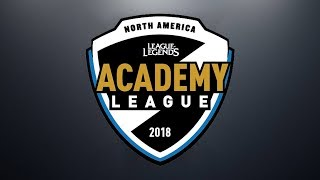 TLA vs. TSMA | Week 1 | NA Academy Spring Split | Team Liquid Academy vs. TSM Academy (2018)