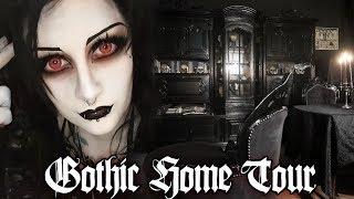 Gothic Apartment Tour! Pąrt 1   Black Friday