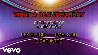 Chris Cagle - What A Beautiful Day (Karaoke)