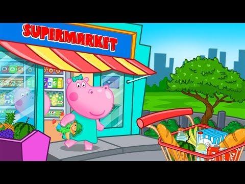 Гиппо 🌼 Детский Супермаркет - Шопинг игры для Детей  🌼Мультик игра для детей (Hippo)