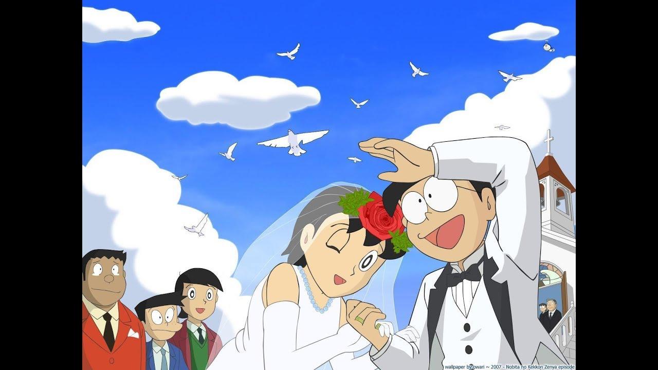 Doremon Let Me Love You Wedding Pic Nobita Shizuka Version Photo Grid Dharmender Ultimate Xx