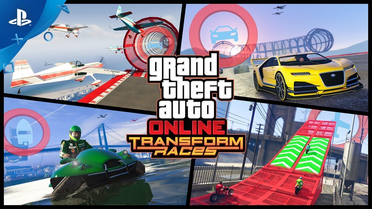 Gta Online Transform Races Trailer Ps