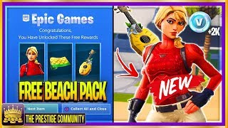 NEW ''Laguna Skin Bundle'' LEAKED... And How To Unlock It! (Fortnite Season 8 Leaked Skins v8.10)