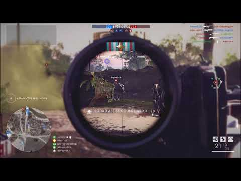 Battlefield 1 - Howell Automatic sniper | Medic