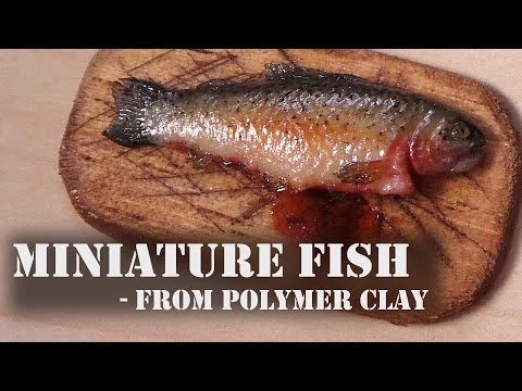 Realistic Miniature Fish - Polymer Clay Tutorial from YouTube · Duration:  6 minutes 2 seconds