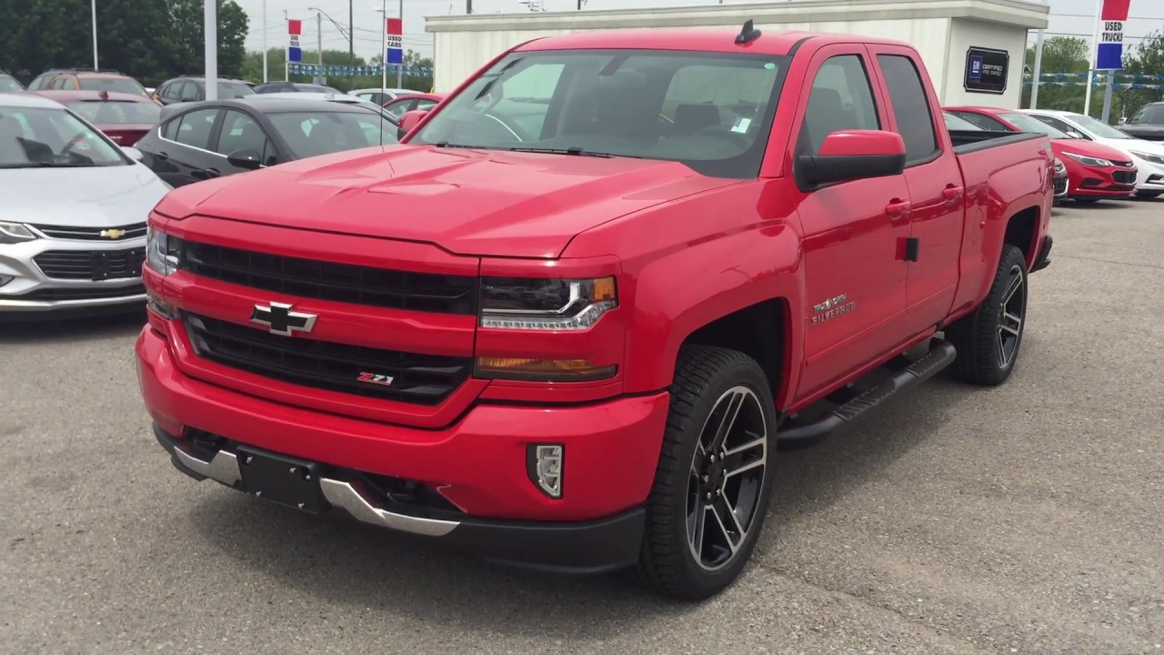 2017 chevrolet silverado 1500 lt z71 true north red hot roy nichols motors courtice on youtube. Black Bedroom Furniture Sets. Home Design Ideas