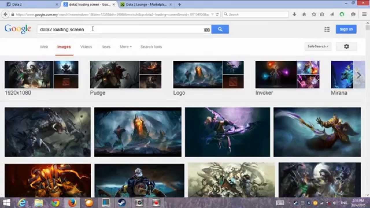 Google themes dota 2 - Dota 2 How To Change Background To International Theme Worked 2015