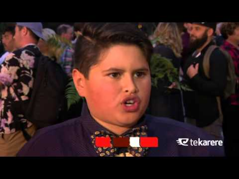 Hunt for the Wilderpeople feature young Māori talent