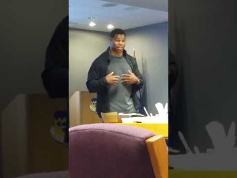 Herschel Walker the Legend  inspirational speech...