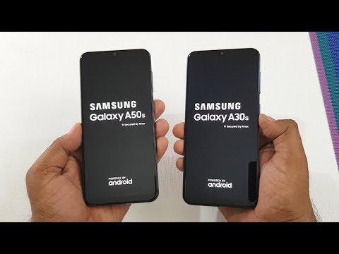 Samsung A50s vs Samsung A30s SpeedTest Camera Comparison