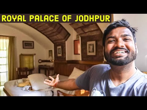 I Stayed At Royal Palace In Jodhpur | Luxury Hotels In India |travelling Paaji