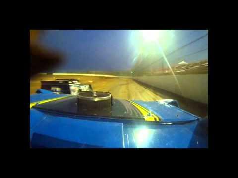 ULMA in car heat race Lucas Oil Speedway 7/21/12