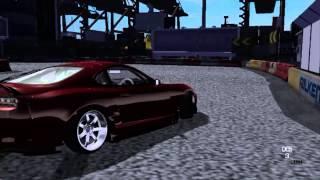SLRR Toyota Supra Drift