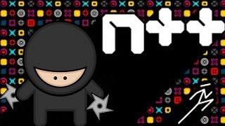 Obstacle Clearing Ninja Awesomeness! N++ Gameplay (N Game)