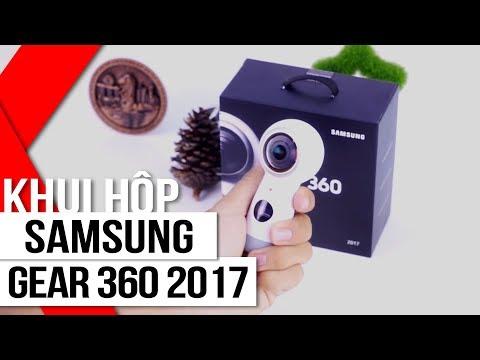 FPT Shop - Khui Hộp Samsung Gear 360 2017: Nhỏ Gọn Hơn, Quay 4K, Hỗ Trợ Livestream