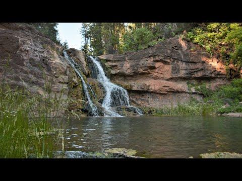 Haigler Creek & Colcord waterfall off road 4x4 trail
