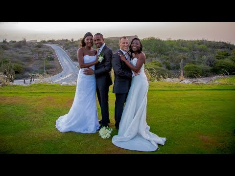 2 sisters 1 wedding: When Haiti, Curacao & The Netherlands meet, you get a wedding in 3 languages.