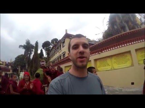 2015 Nepal Earthquake at Kopan Monastery - Kathmandu