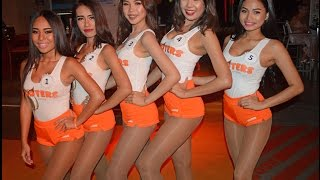 Hooters of Pattaya Thailand Compilation (Nsane Vlog #9)