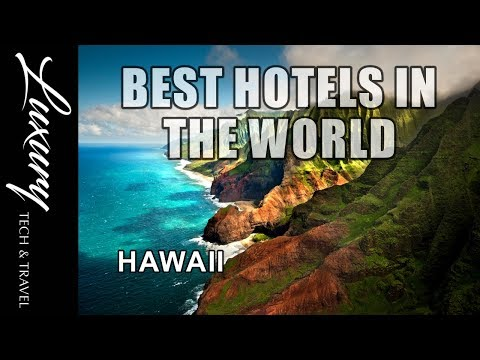 Best Hotels HAWAII Luxury Resorts Hawaii VIDEO TOUR