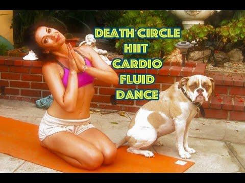 Death Circle 6 Fluid Dance HIIT MMA Cardio Workout Legs