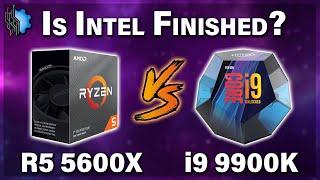 Intel is Dead? — Ryzen 5 5600X vs i9-9900K vs Ryzen 7 3700X — Battle of the $300 CPUs